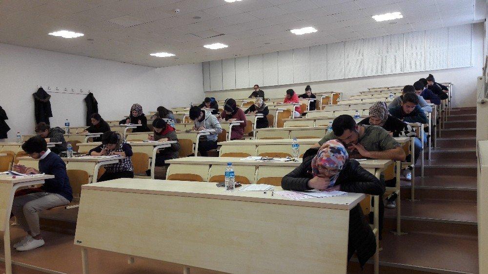 Uluslararası Öğrenciler Düzce Üniversitesi Öğrencisi Olmak İçin Ter Döktü