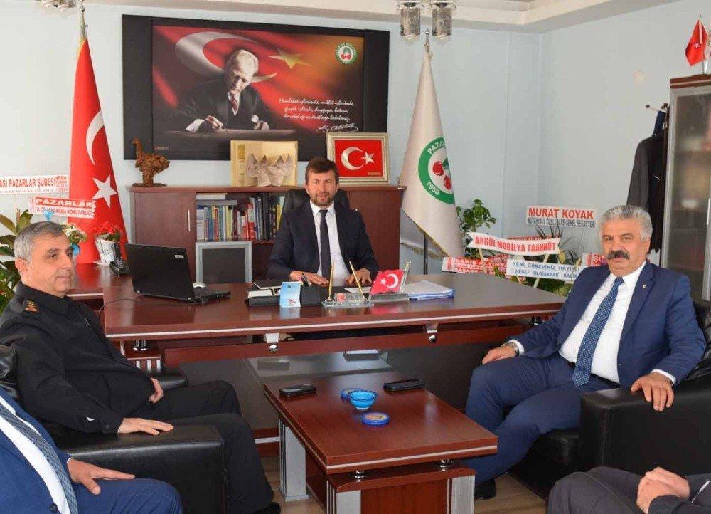 Dündar Çevik'ten Başkan Demirci'ye 'Hayırlı Olsun' Ziyareti