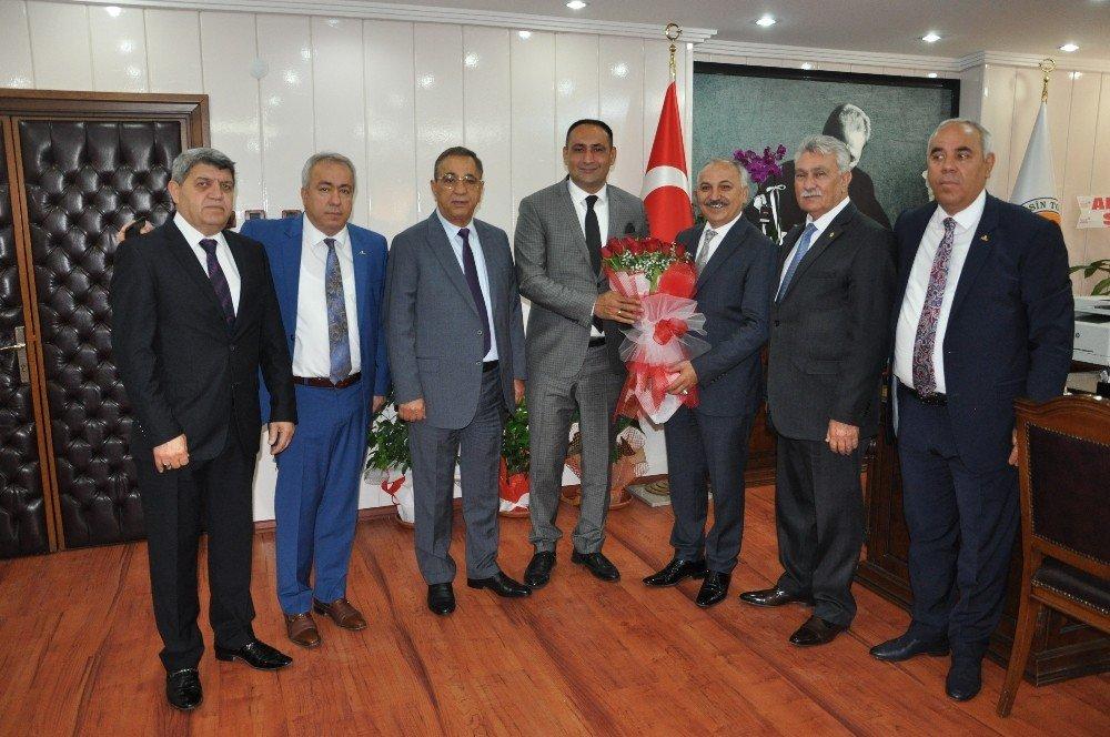 Başkan Dinçer'den Belediye Başkanlarına 'Hayırlı Olsun' Ziyareti