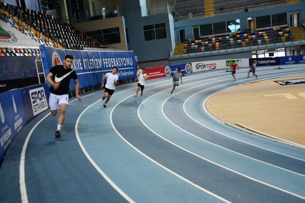 Puanlı Atletizm Yarışları Yapıldı