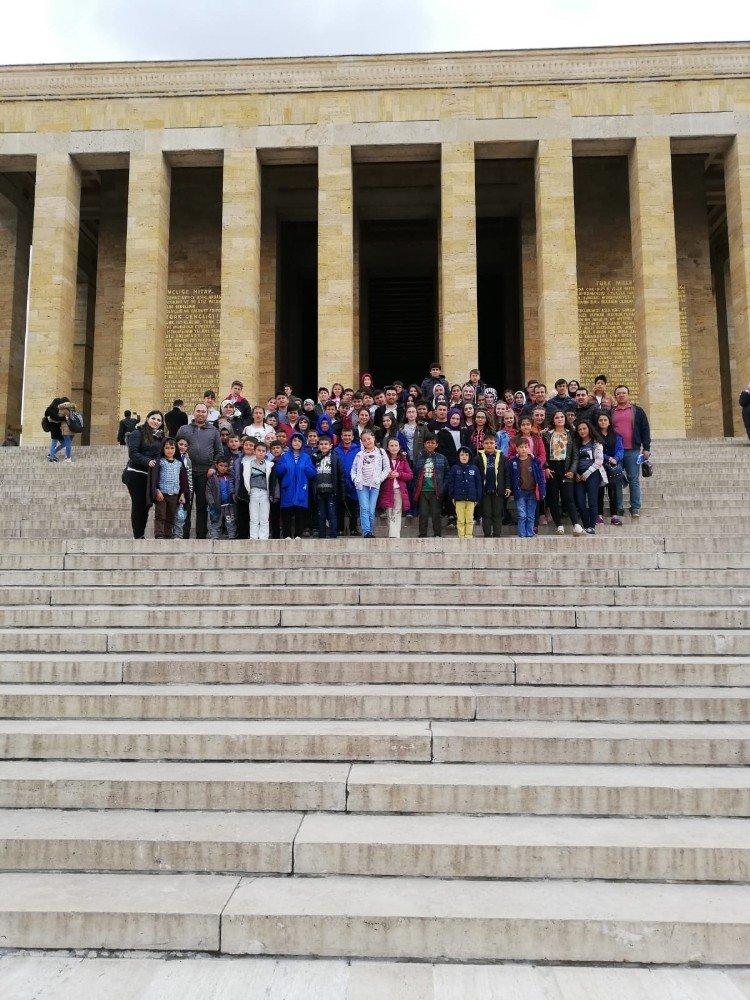 Köy Okulundan Ankara'ya Ziyaret