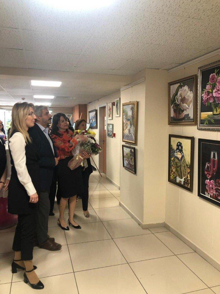 Soğanlık Kültür Merkezi Yıl Sonu Sergisi Ziyarete Açıldı