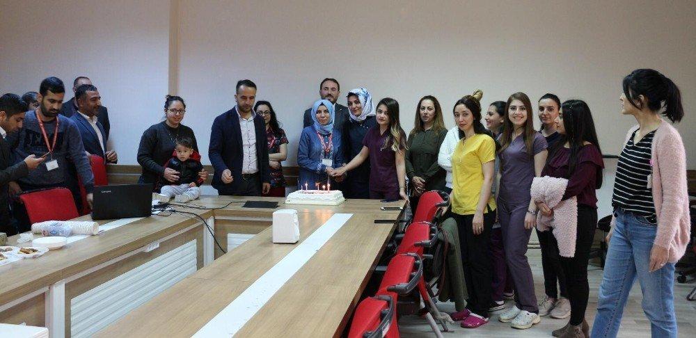 Şırnak'ta Ebeler Haftası Etkinliği