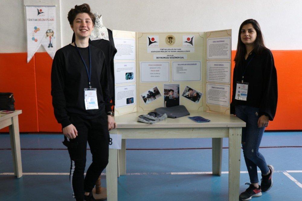 Adapazarı Mesleki Ve Teknik Anadolu Lisesi'nde Bilim Fuarı Açıldı