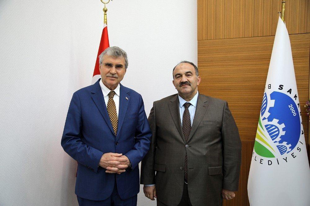 İşkur Genel Müdür Uzunkaya'dan, Başkan Yüce'ye Ziyaret