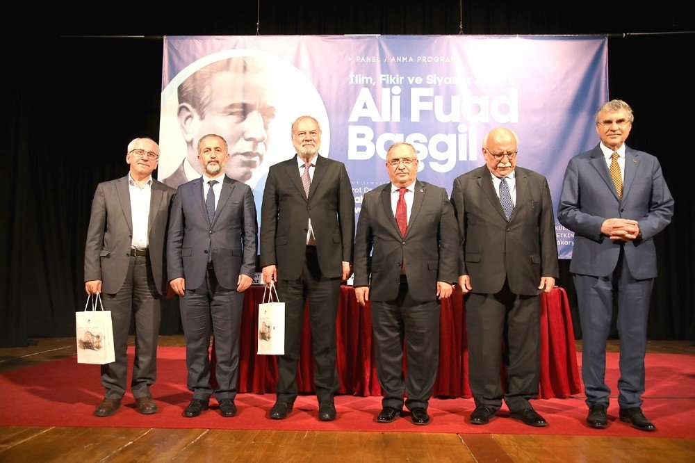 Akm'de 'İlim, Fikir Ve Siyaset Adamı Ali Fuad Başgil' İsimli Panel Gerçekleşti