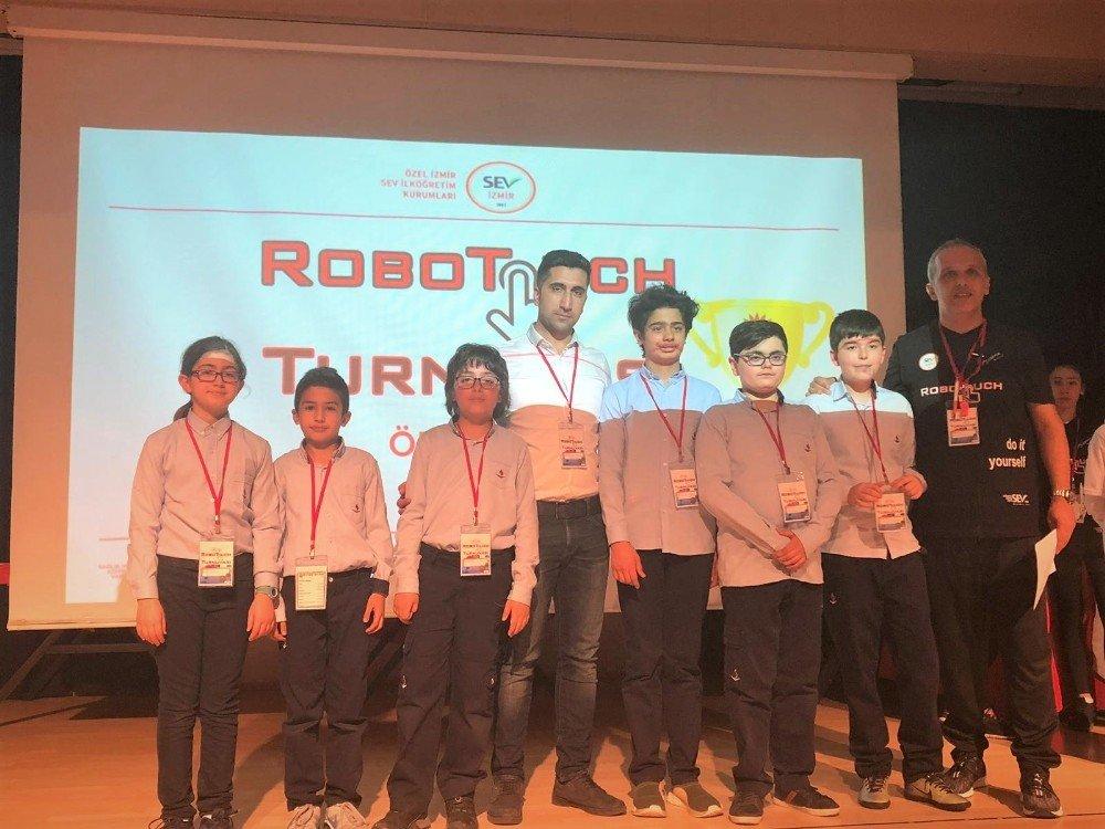 Sev 2. Robotouch Turnuvası'na Sanko Damgası