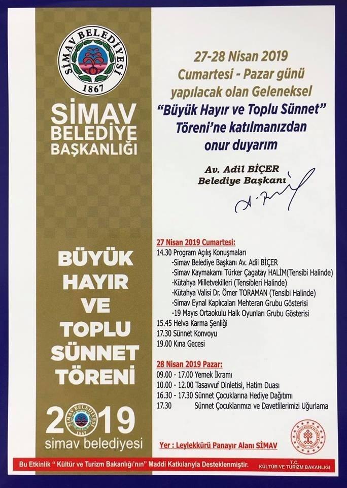 Simav'da 'Büyük Hayır' Hazırlığı