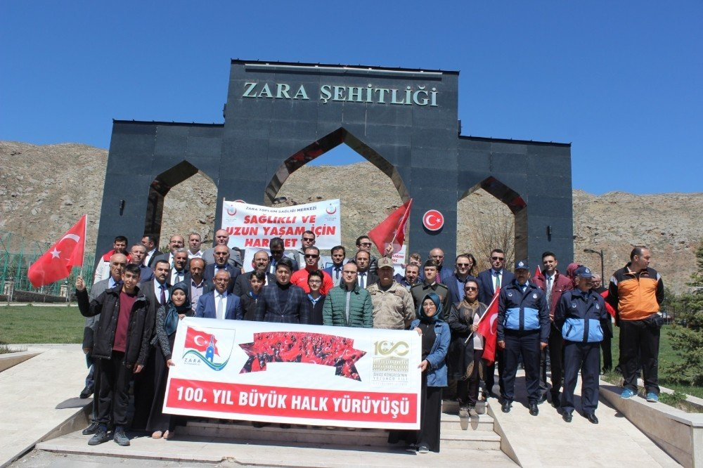Zara'da Sivas Kongresi'nin 100. Yılı Kutlandı