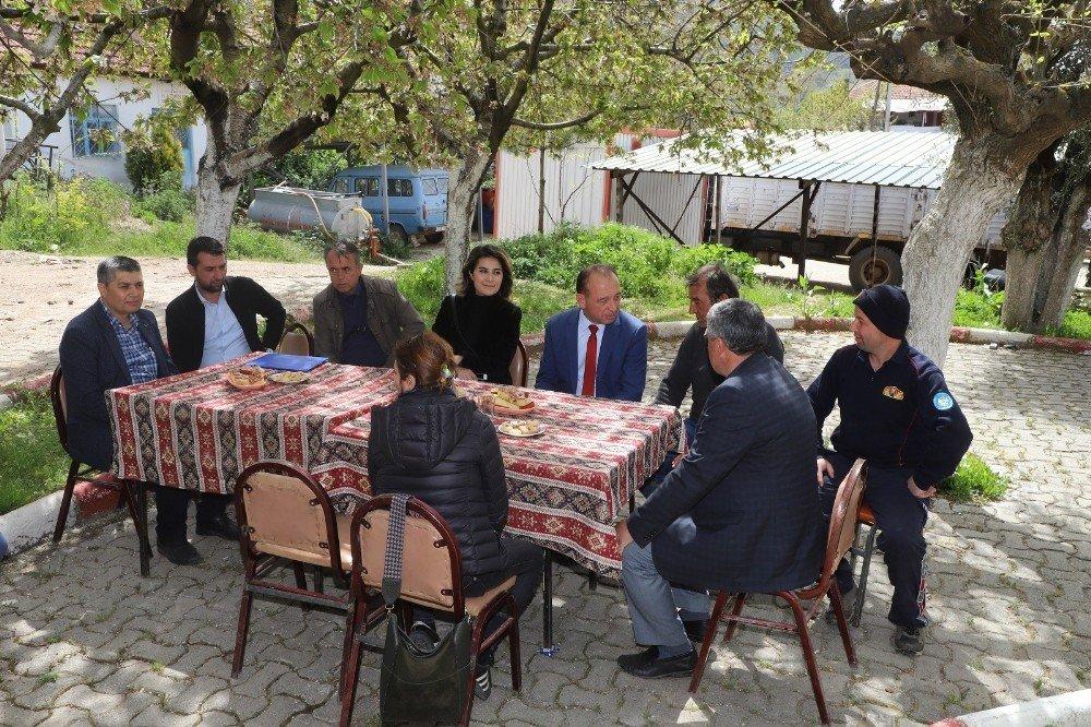 Başkan Akın'dan Turgutlu'nun Kırsal Mahallelerine Çıkarma