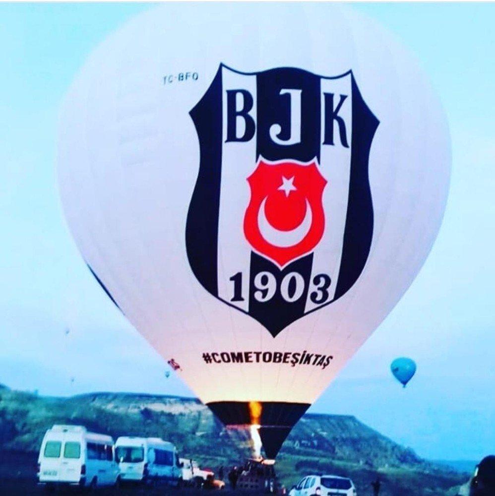 Beşiktaş Balonu Kapadokya'da Havalanmaya Başladı