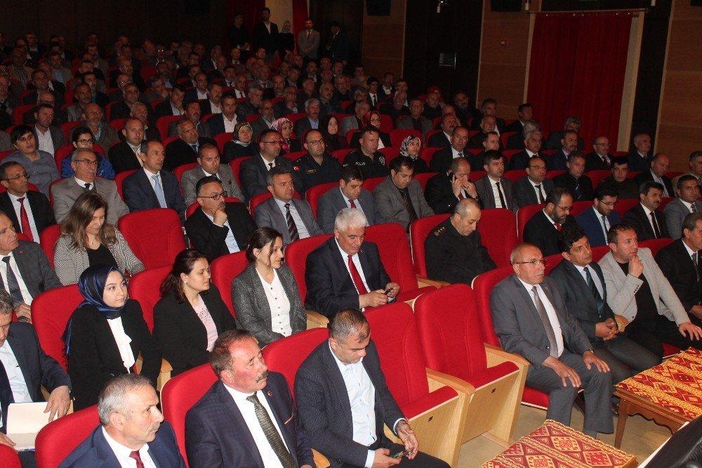 Vali Yaşar Karadeniz Tosya'da Vatandaşların Sorunlarını Dinledi