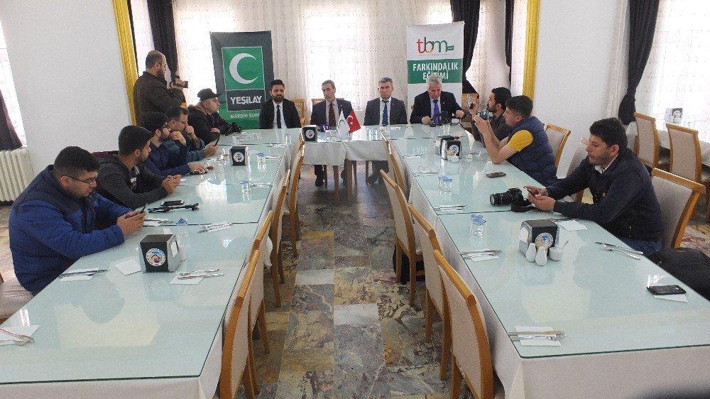 Mardin'de Yeşilay Elçileri Projesi