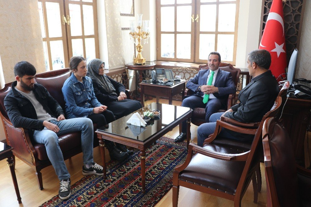 Aksaray'da Şehit Ailesine Şehadet Belgesi Verildi