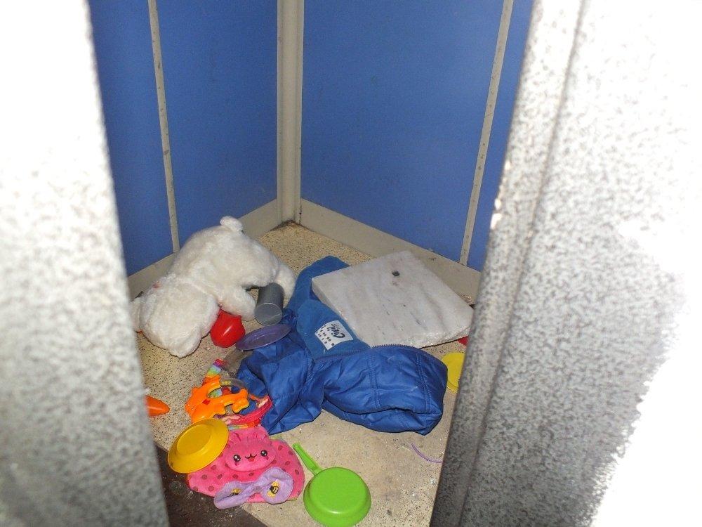 Asansöre Sıkışan Çocuk Ağır Yaralandı