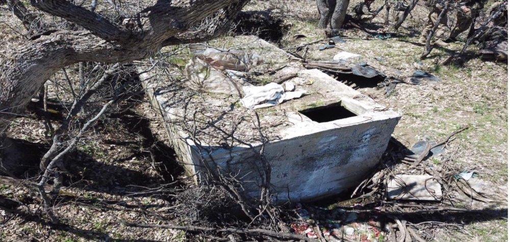Şırnak'ta Teröristlerin 36 Sığınak Ve Mağarası İmha Edildi