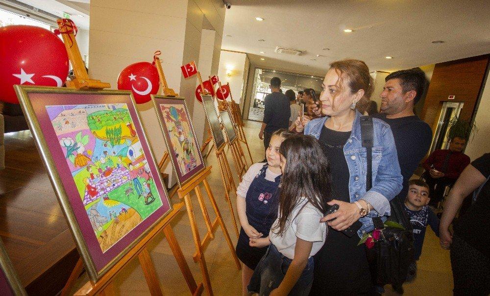 Çocuklar Sanayiyi Resimlerle Anlattı