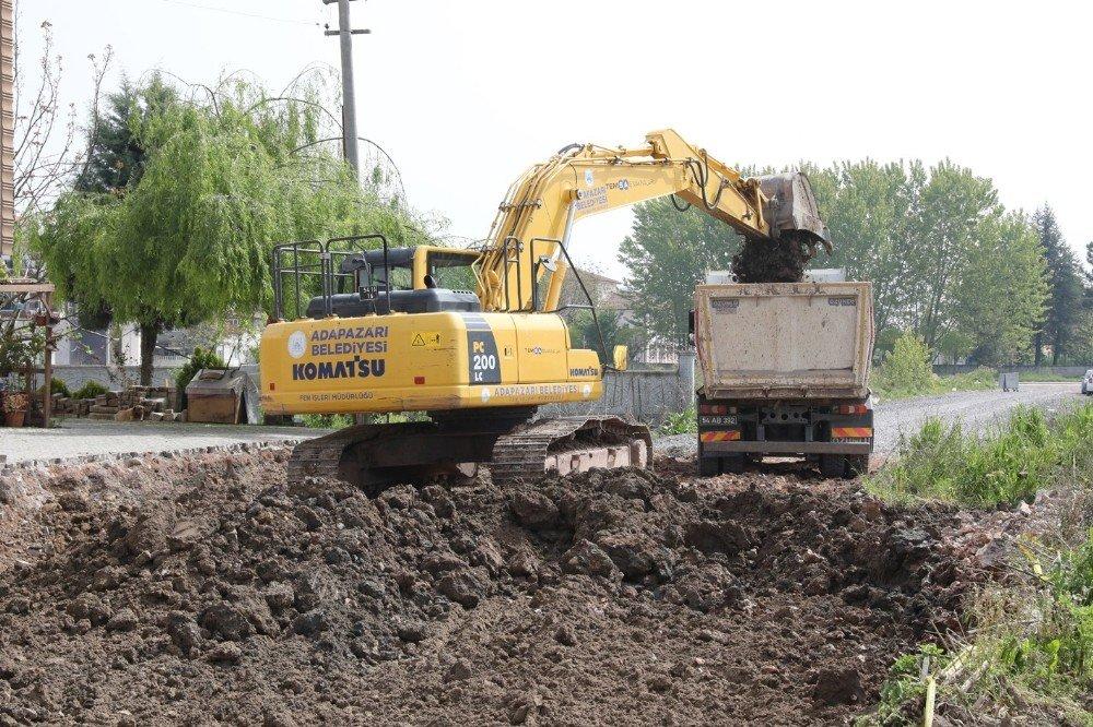 Adapazarı Belediyesi Yol Açma Çalışmalarını Başlattı