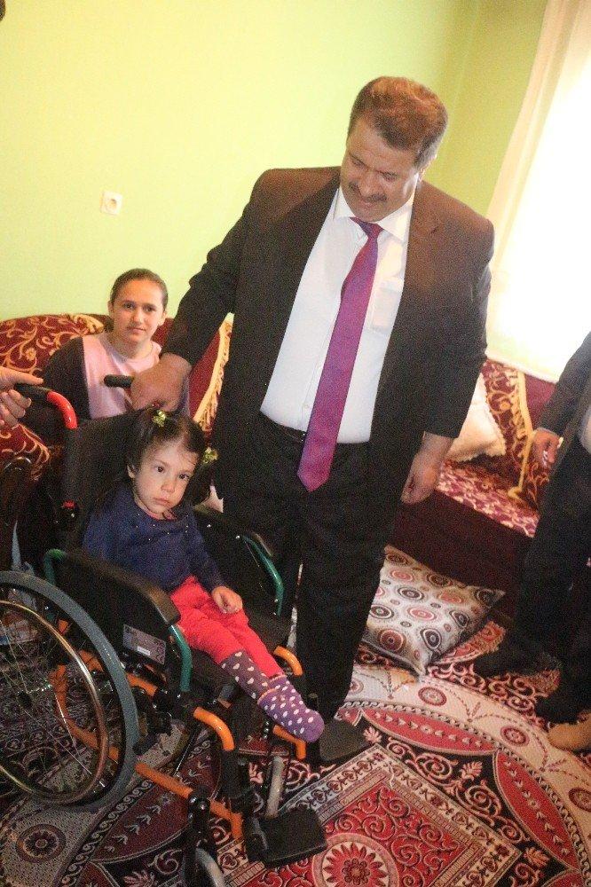 Rüya'nın Tekerlekli Sandalye Hayali Gerçekleşti