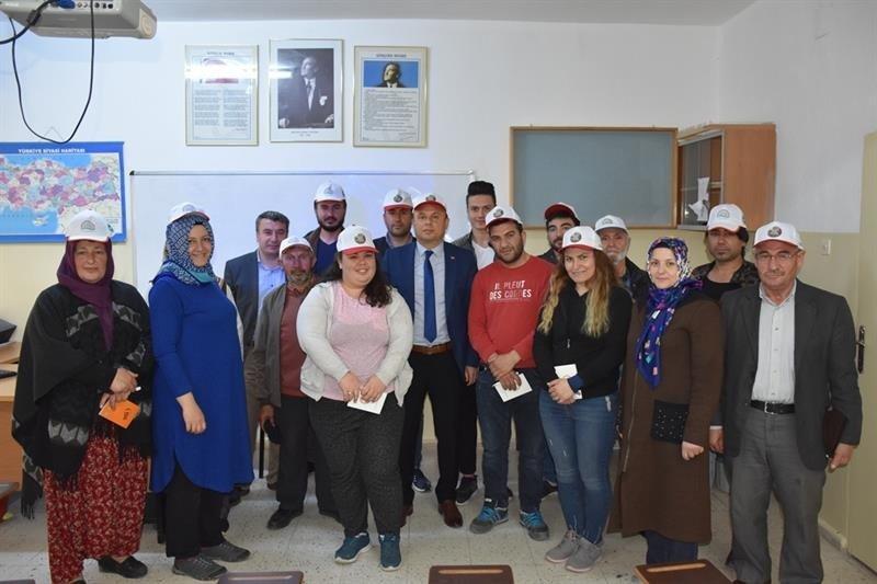 Aksaray'da Mantar Yetiştiriciliği Kursu Açıldı