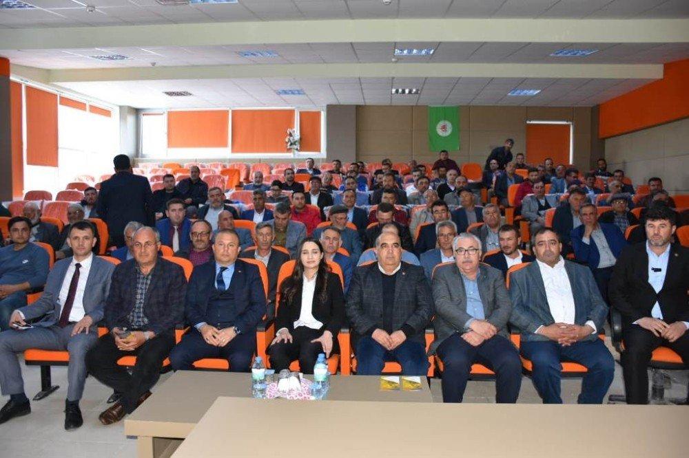 Aksaray'da Kanola Ekimine Devlet Desteği