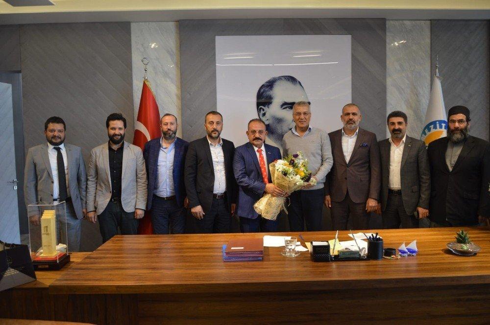 Askon Mersin Şube Başkanı Arslan'dan Gültak Ve Tarhan'a 'Hayırlı Olsun' Ziyareti