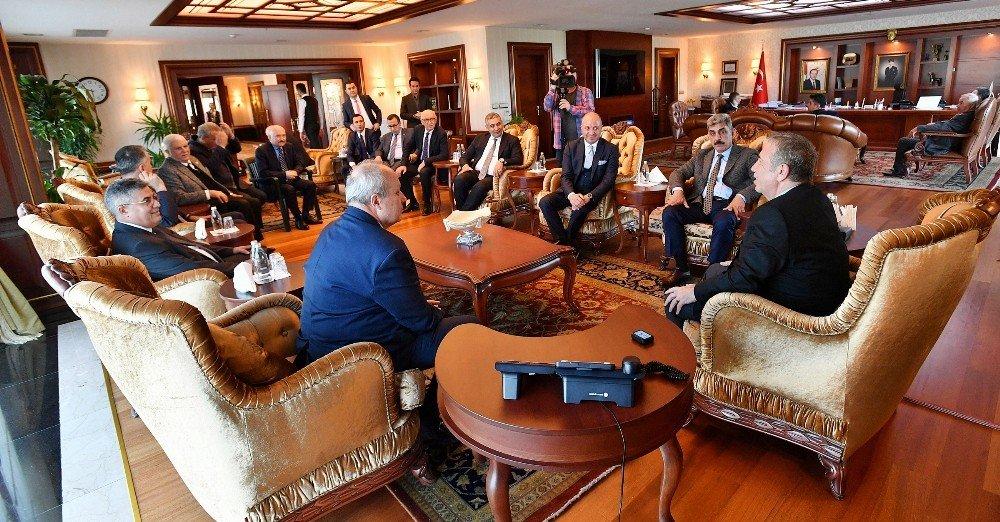 İş Dünyasından Başkan Yavaş'a Ziyaret