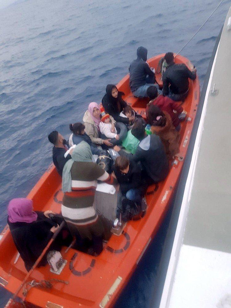 Aydın Ve Muğla'da 89 Düzensiz Göçmen Yakalandı