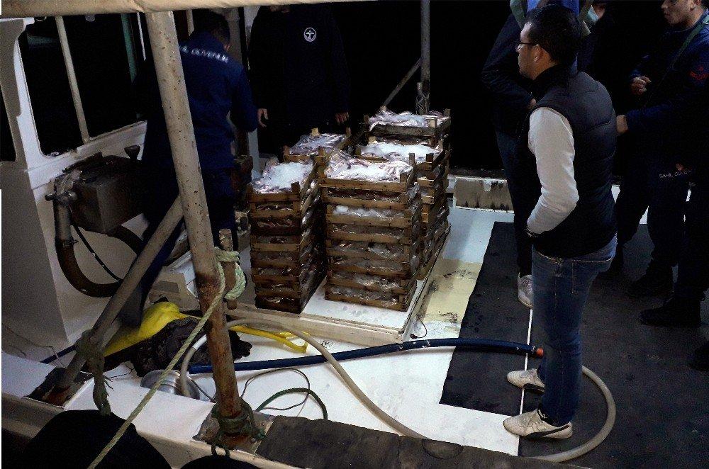 Karina'da Kaçak Trol Avcılığına 49 Bin Tl Ceza