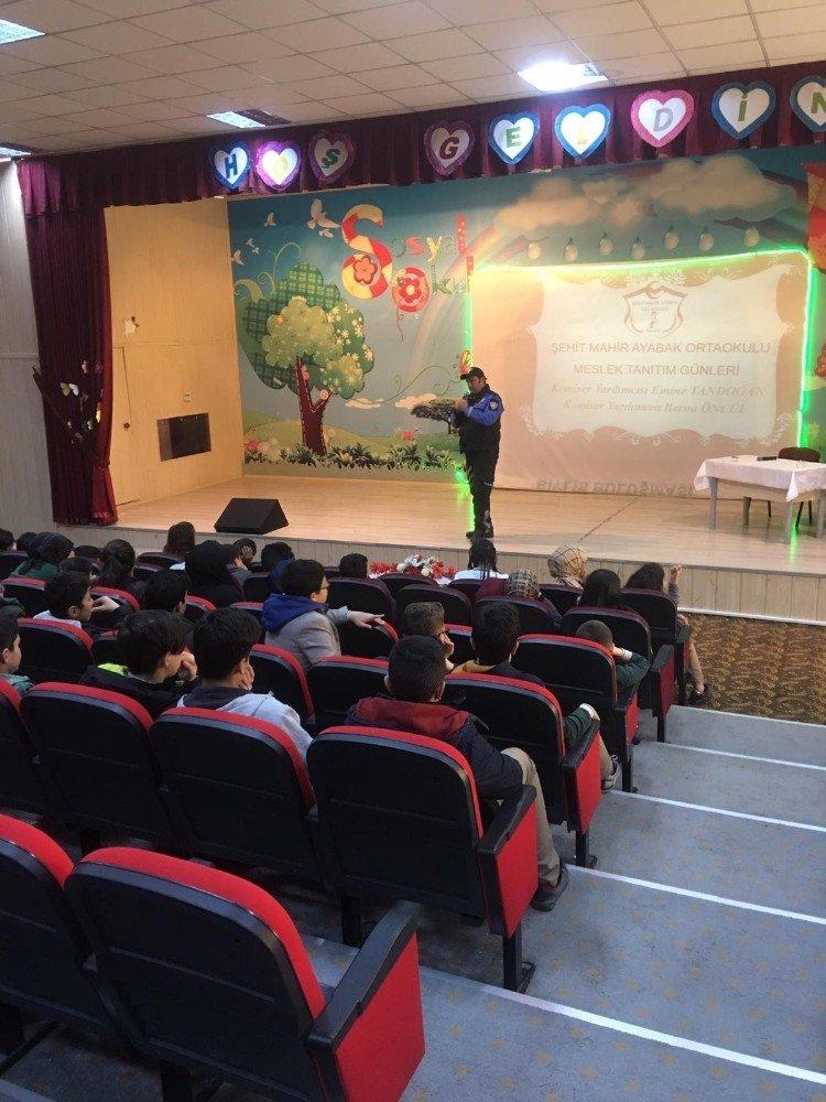 Bitlis'te Öğrencilere Polislik Mesleği Anlatıldı