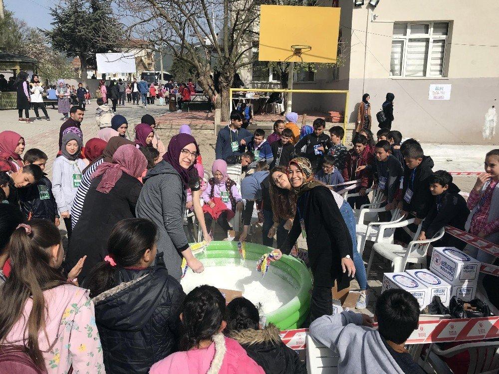 Bilim Aşığı Çocuklar Festivale Akın Etti