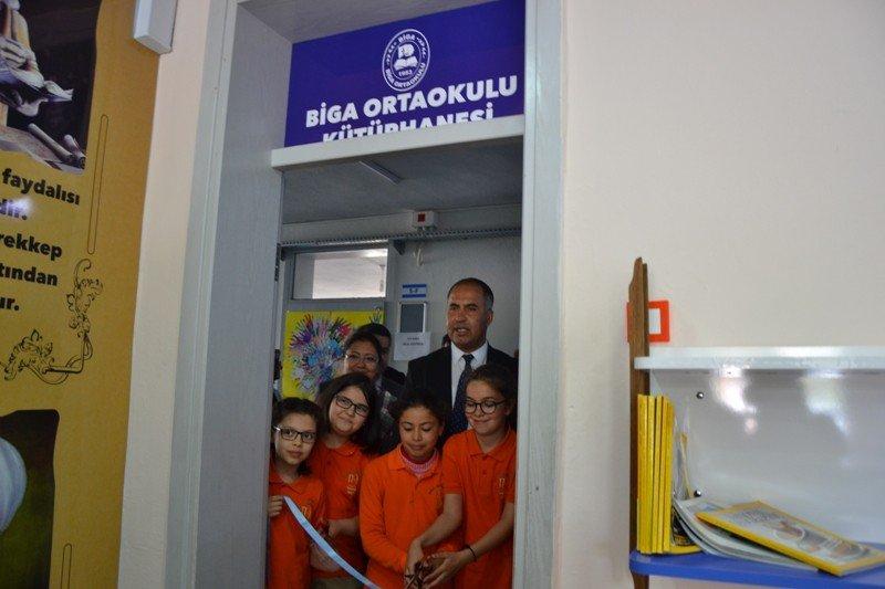 Biga Ortaokulu'dan Kardeş Okula Yardım Kampanyası