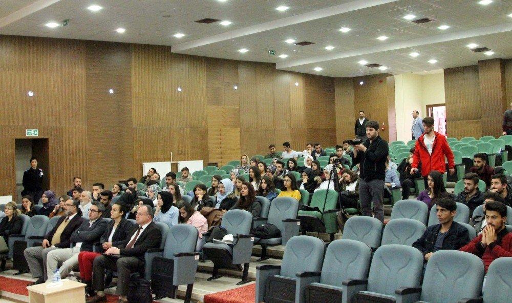 Çakü'de İş Sağlığı Ve Güvenliği Sempozyumu Düzenlendi