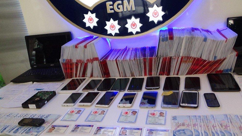 Mahkumların Kimlik Bilgileriyle Kredi Kartlarını Kopyalayan Şebeke 1 Milyonluk Vurgun Yaptı