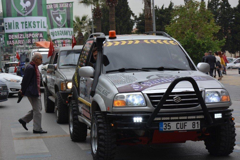 Türkiye Ulusal Off-road Şampiyonası Kortej Geçişi İle Başladı