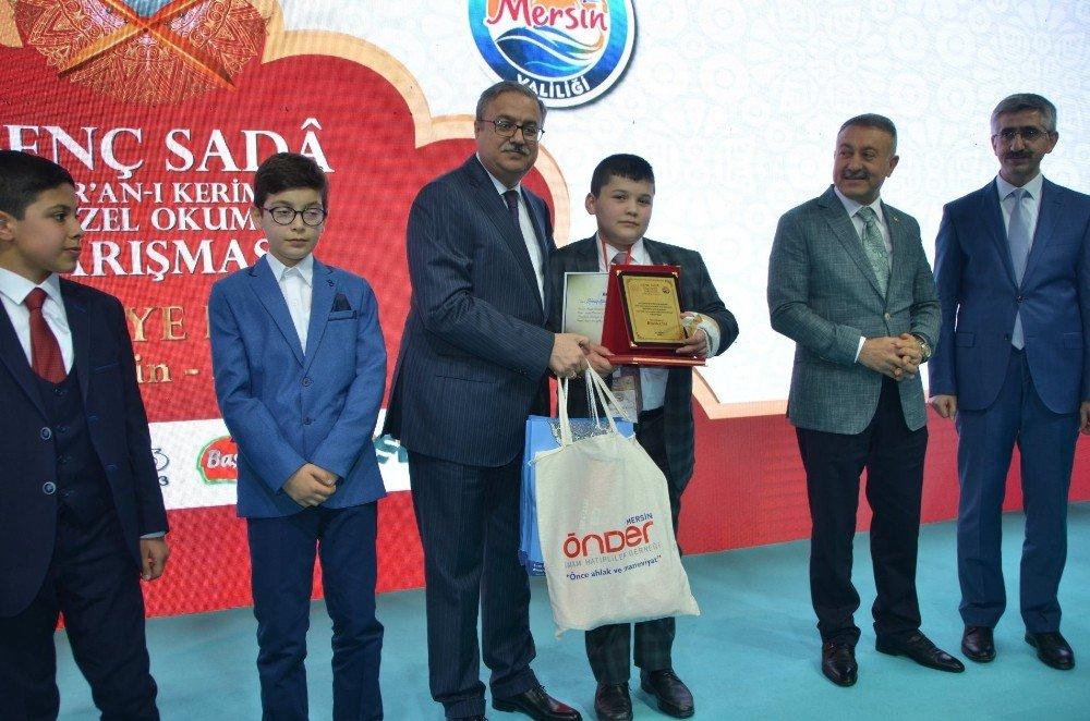 Kur'an-ı Kerim'i Güzel Okuma Yarışması'nın Finali Mersin'de Yapıldı