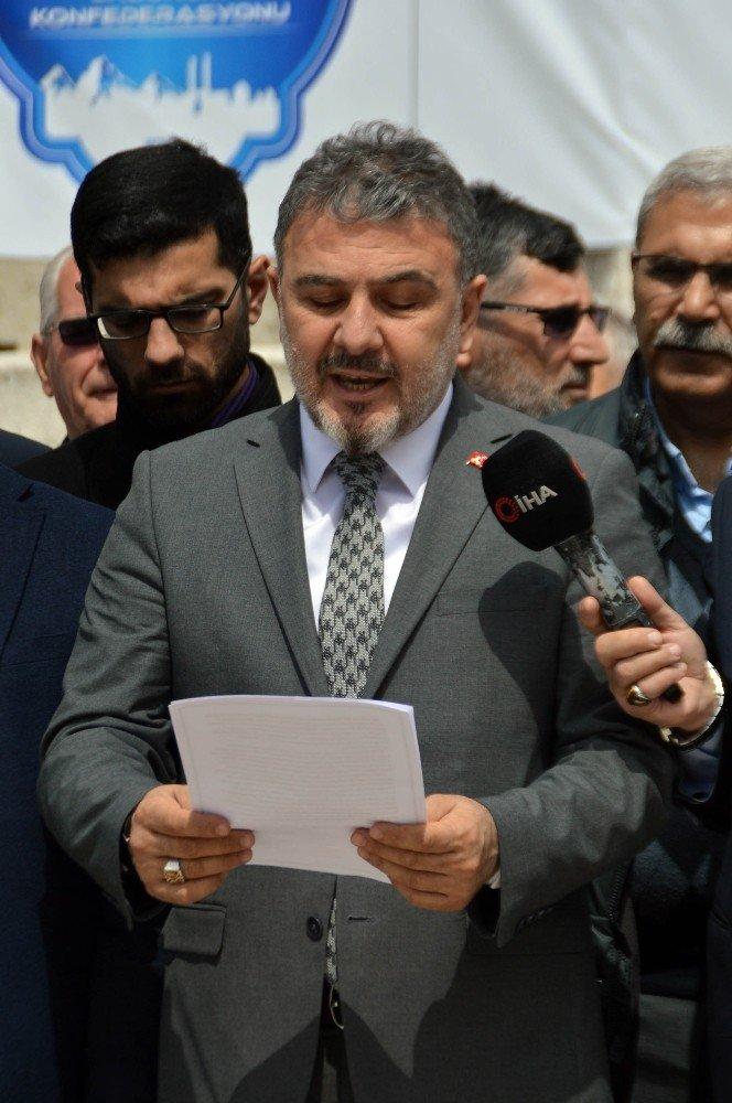 """Erzurum Konfederasyonu """"Sözde Ermeni Soykırımı"""" İddialarına Tepki Gösterdi"""