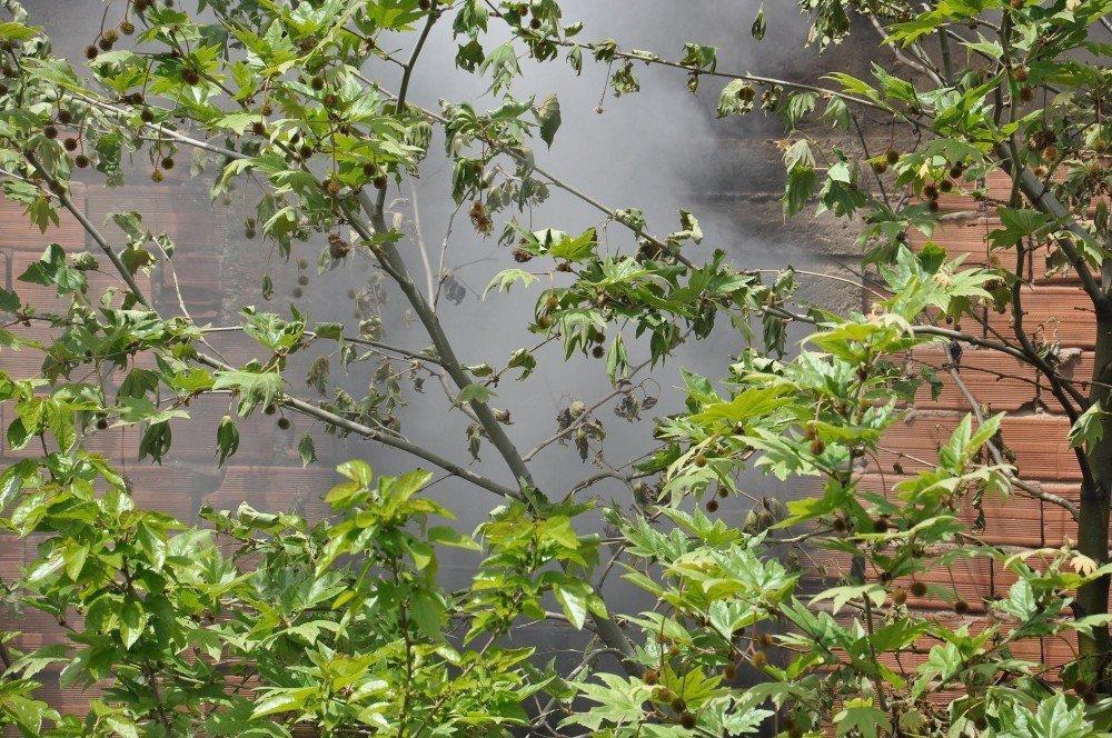 İslahiye'de Ev Yangını Korkuttu