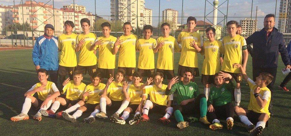 Kayseri U-14 Ligi Şampiyonu Kocasinan Şimşek, Türkiye Şampiyonası'na Katılacak