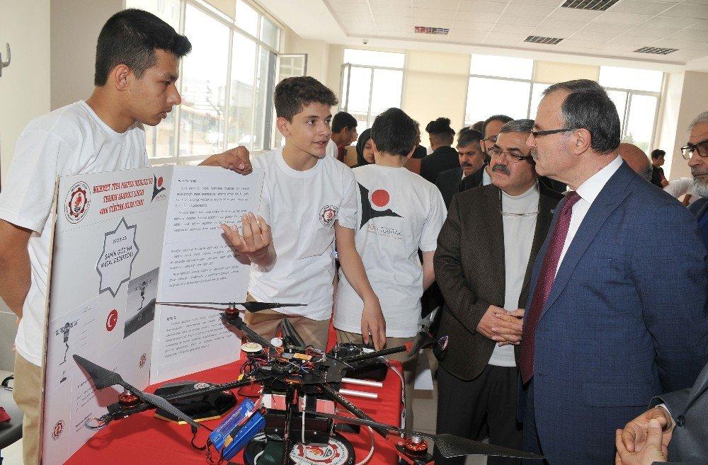 Konya Osb'de Tübitak 4006 Bilim Fuarı Açıldı