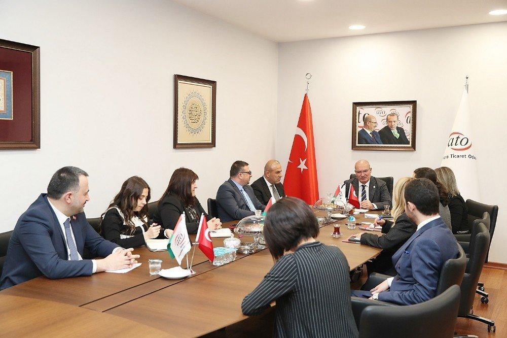 Kudüs Arap Ticaret Ve Sanayi Odasından Ato'ya İş Birliği Teklifi