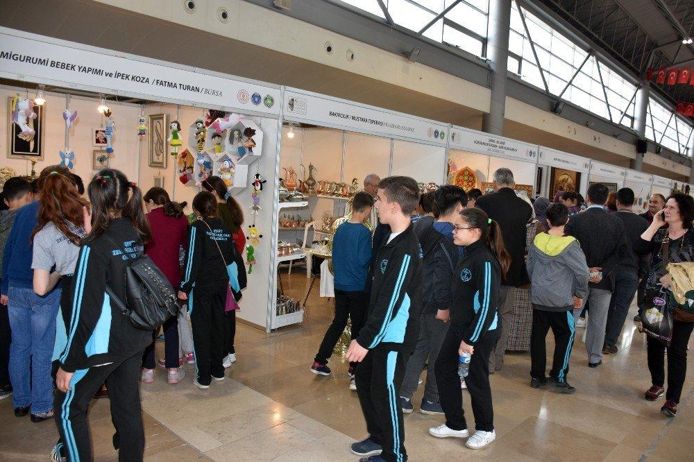 Geleneksel El Sanatlarına Okullardan Büyük İlgi