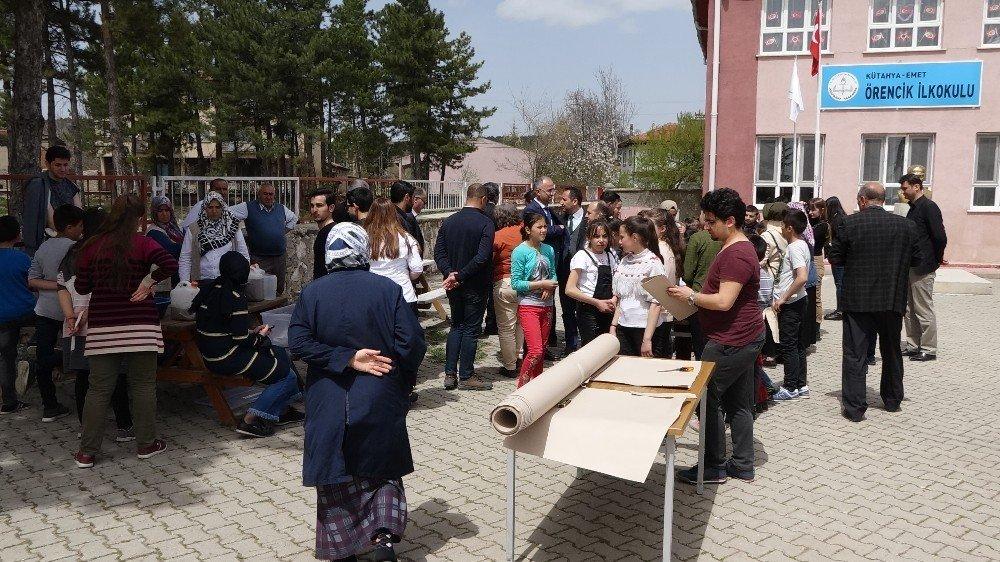 Öğrenciler Kağıt Üretti