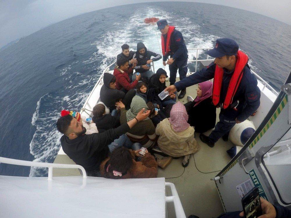 Muğla Ve Aydın'da 89 Düzensiz Göçmen Yakalandı