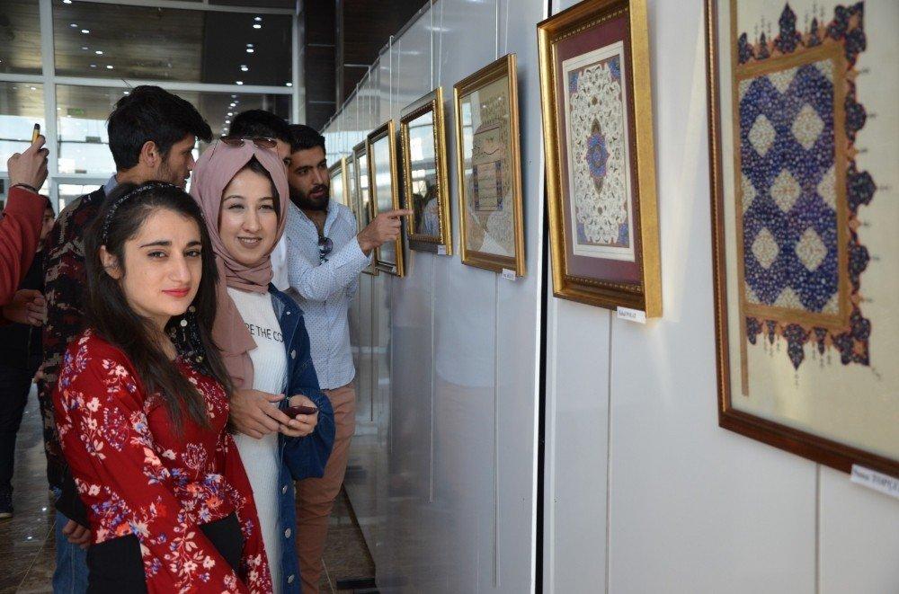 """Mşü'de """"İslam Sanatları Uluslararası Sergisi"""