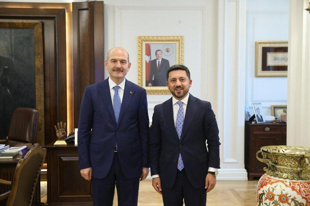 Belediye Başkanı Arı, Ankara'da Bir Dizi Ziyaretlerde Bulundu