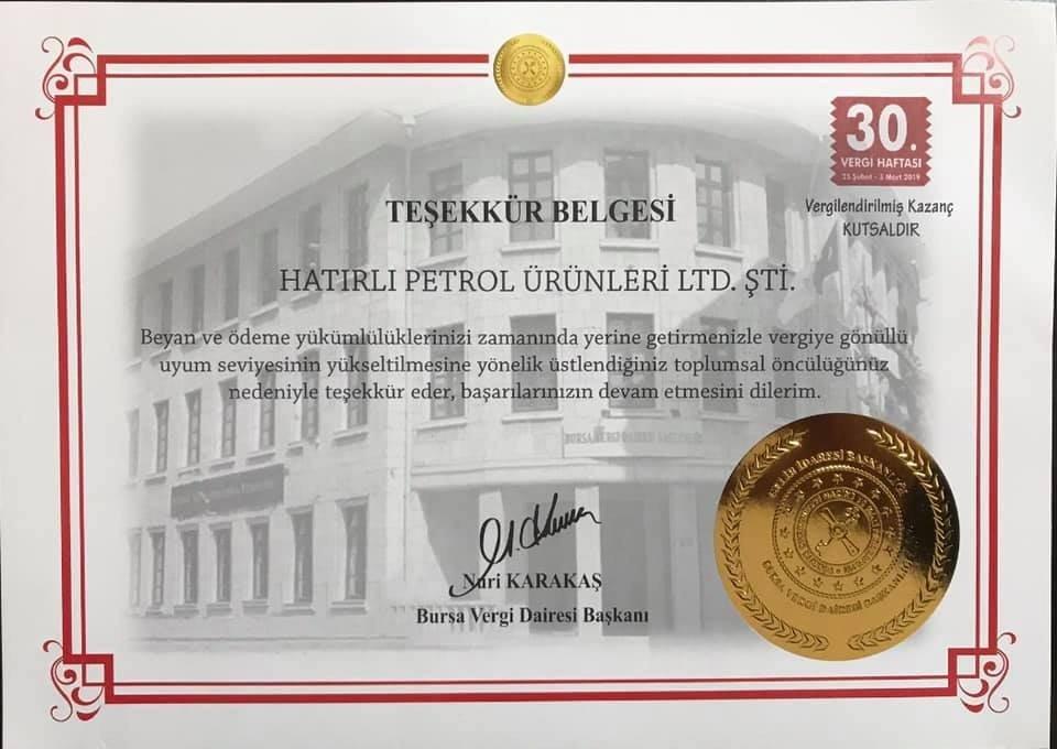Düzenli Vergi Ödeyenlere Ödül