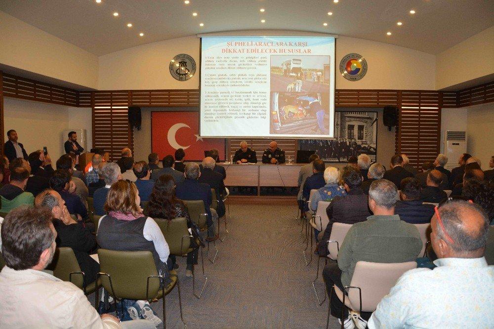 Ortaca'da Turizmcilere Güvenlik Semineri