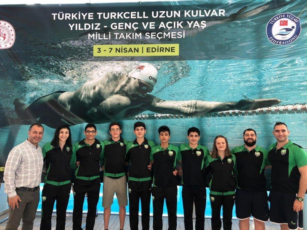 Şehitkamilli Sporcular Balkan Şampiyonası'nda Kulaç Atacak