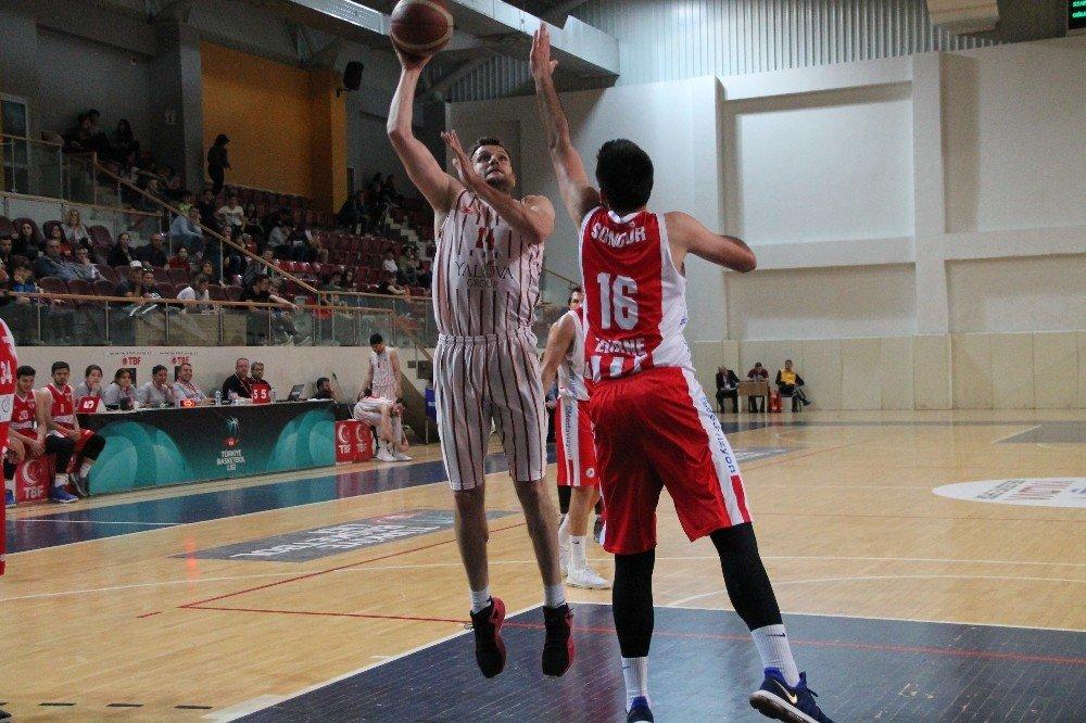 Türkiye Basketbol Ligi: Semt77 Yalova Belediyespor: 115 - Edirnespor: 96